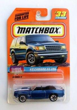 "Matchbox 75 (Mattel Collectible ""Classic & Super Cars"") Diecast 1:64 Scale Series ""Rare-Vintage"" (1997)"