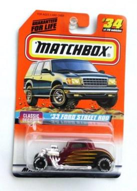 "Matchbox 75 (Mattel Wheels Collectible Diecast 1:64 Scale Series) ""Rare-Vintage"" (1997)"