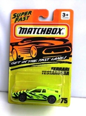 "Matchbox 75 (Mattel-Tyco Collectible Diecast 1:64 Scale Series) ""Rare-Vintage"" (1994)"