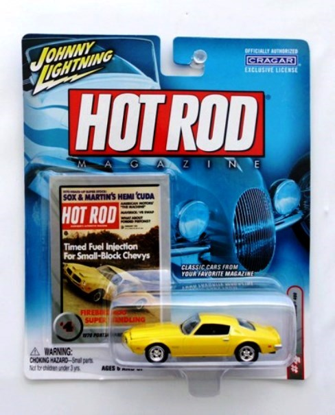 Vintage 1970 Pontiac Firebird 400 Hot Rod