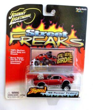 Vintage '68 Pontiac Firebird Dark Red