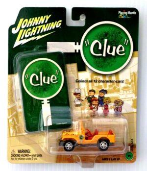 Colonel Mustard Jeep CJ5