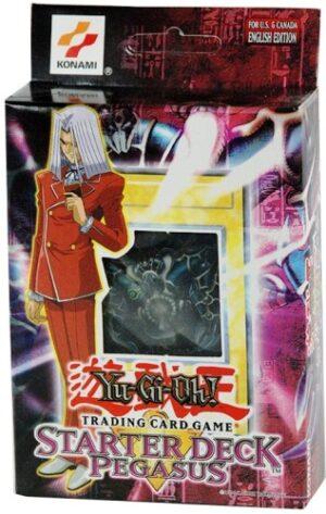 "Yu-Gi-Oh! 1st Edition-Pegasus""Starter Deck-English Edition Trading Card Game"" (Konami Corporation & The Upper Deck Company) ""Rare-Vintage"" (1996)"