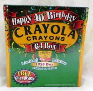 Crayola Crayons (Happy 40th Birthday