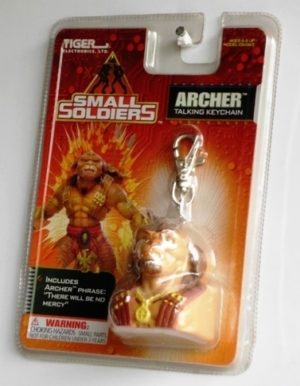 Small Soldiers (ARCHER) TALKING KEY CHAIN OPENED (1998)