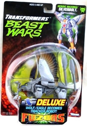 """Beast Wars Transformers Fuzors (""""Kenner"""" Basic & Deluxe Bubble Cards Collector's Series) """"Rare-Vintage"""" (1998)"""