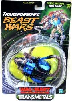 """Beast Wars Transformers TransMetals & TransMetals 2 (Basic & Deluxe Bubble Cards """"Kenner/Hasbro"""" Collector's Series) """"Rare-Vintage"""" (1998-1999)"""