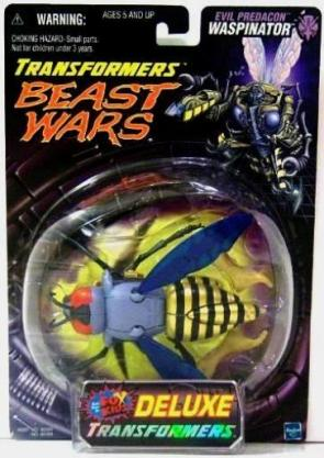 """Beast Wars Transformers Deluxe (Bubble Cards Fox Kids""""Hasbro"""" Collector's Series) """"Rare-Vintage"""" (1998-2000)"""