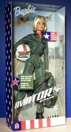 """Military AAFES Barbie Vintage Series (""""Exclusives & Special Edition Collection"""") """"Rare-Vintage"""" (2001)"""