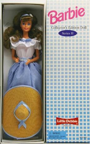 "Little Debbie Barbie Vintage Series (""Exclusives & Special Edition Collection"") ""Rare-Vintage"" (1995)"