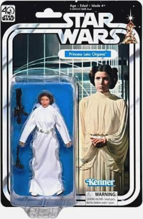 "Star Wars (40th Anniversary ""Vintage-Inspired Packaging"") A New Hope The Black Series ""Rare-Release"" (2016)"