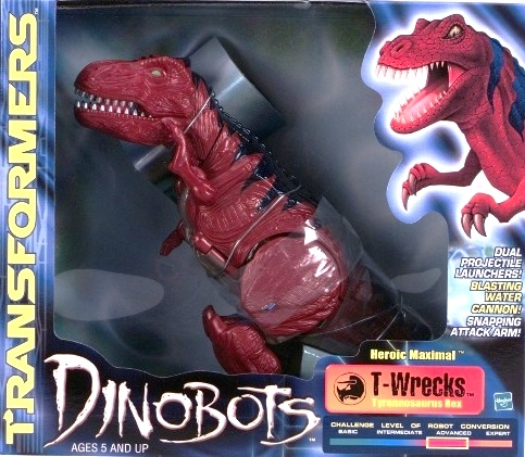 T-Wrecks Dinobots (Hasbro 2000) (2)