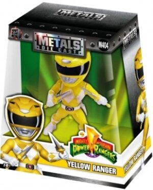 "Yellow Ranger (M404) ""Heavy Die Cast Metal-1997 (0)"