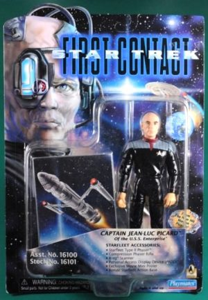 Captain Jean-Luc Picard (Red & Black Accessories)