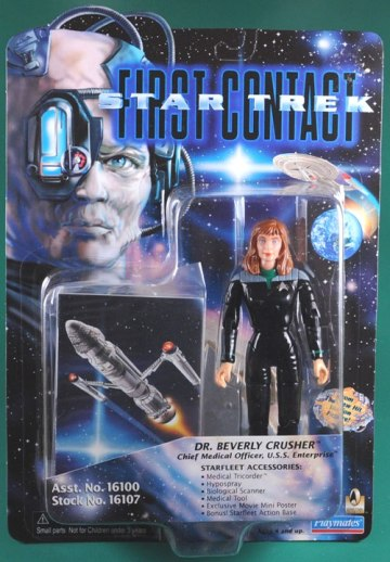 Dr Beverly Crusher-wPeg Tabs-(Variant Red Accessories)