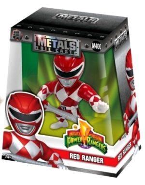Red Ranger (M402) Heavy Die Cast Metal-2017 (0)