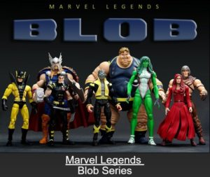 "Marvel Legends (Blob Series) ""Rare-Vintage"" (2006)"