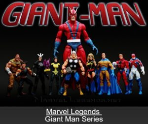 "Marvel Legends (""Exclusive"" Gaint Man Series) ""Rare-Vintage"" (2006)"