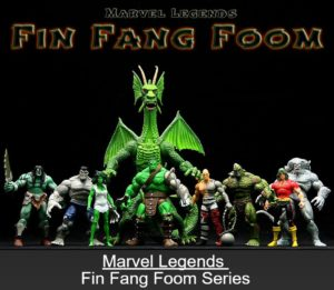 "Marvel Legends (Hulk Fin Fang Foom Series ) ""Rare-Vintage"" (2008)"