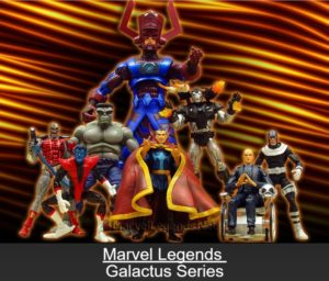 "Marvel Legends (Galactus Series) ""Rare-Vintage"" (2005)"