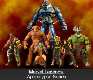 "Marvel Legends (Apoclypse Series) ""Rare-Vintage"" (2005)"