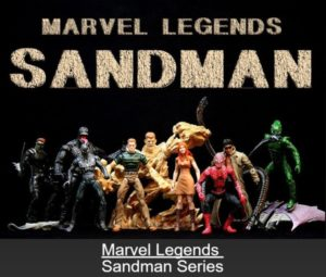 "Marvel Legends (Sandman Series) ""Rare-Vintage"" (2007)"