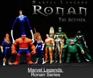 "Marvel Legends (Ronan the Accuser ""Fantastic Four"" Series) ""Rare-Vintage"" (2007)"