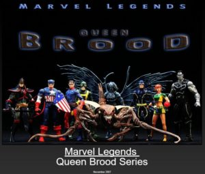 "Marvel Legends (Brood Queen Series) ""Rare-Vintage"" (2007)"