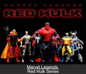 "Marvel Legends (""Exclusive"" Red Hulk Series) ""Rare-Vintage"" (2008)"