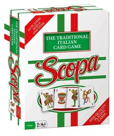 "SCOPA (""ITALIAN CARD GAME"") ""Rare-Vintage"" (2000)"