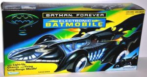 "Batmobile ""Electronic Light-Up Chassic And Long Range Missile!"""