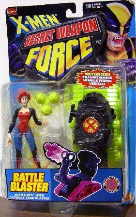 """X-MEN (Battle Blasters) """"Rare-Vintage"""" 1998"""