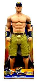 "John Cena (""WWE Exclusive 31"" Giant Action Figure"") ""Rare"" 2014"