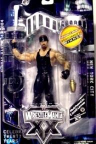 "WWE WrestleMania XX (""Winner Celebration"") Series ""Rare-Vintage"" (2004)"