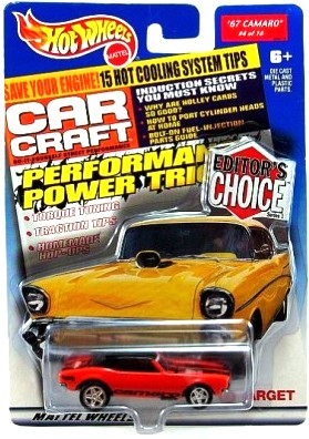 """HW (Editor's Choice Hot Rods) Limited Edition (1:64 Scale) Collection Series """"Rare-Vintage"""" (2000)"""