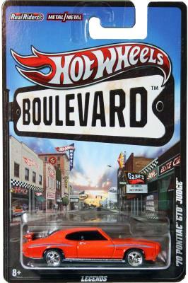 """Hotwheels (Boulevard Metal & Real Riders) """"Rare-Vintage"""" (2011-2012)"""