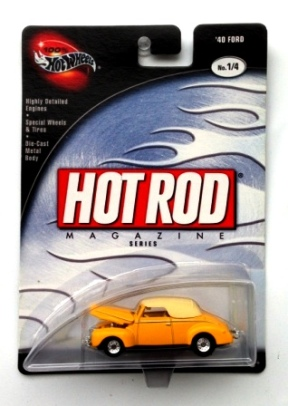 "HW (Hot Rod Magazine) Limited Edition (1:64 Scale) Collection Series ""Rare-Vintage"" (2002)"