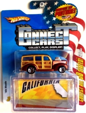 "HW (Connect Cars ""50 States"") Limited Edition 1:64 Scale Collection Series ""Rare-Vintage"" (2008)"