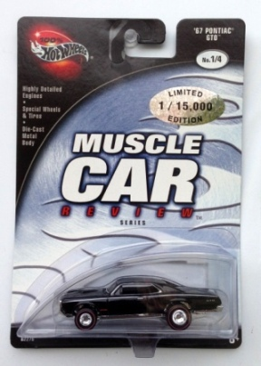 "HW (Muscle Car Review) Limited Edition 1:64 Scale Collection Series ""Rare-Vintage"" (2002)"