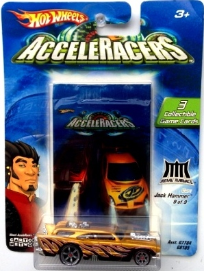"""Hotwheels Acceleracers (Animated Cartoon Network Series 1:64 Scale) """"Rare-Vintage"""" (2004)"""