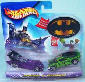 "Hotwheels (DC Comics) 2-Pack Collectible Series ""Rare-Vintage"" (2003)"