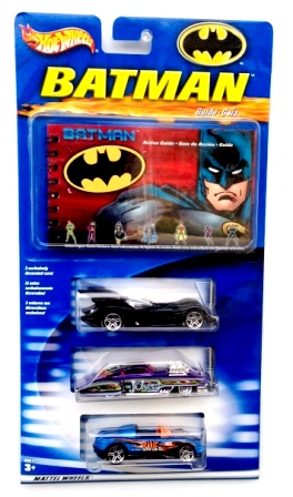 "Hotwheels (Batman Exclusives & Batman Begins Diecast Vehicles) 1:64 Scale ""Rare-Vintage"" (2003-2007)"