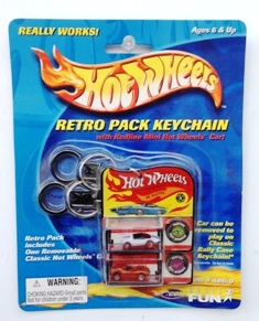 "HW (Retro Pack Vehicle Keychains) ""Rare-Vintage"" 2001"