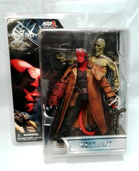 "HellBoy Collection (Mezco Toyz Hellboy Feature Film Movie Series) ""Rare-Vintage"" (2004)"