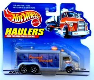 """Hotwheels (Haulers """"Short Cards"""") Exclusives & Limited Edition (1:64 Scale Diecast Vehicles Collection) """"Rare-Vintage"""" (1996-2000)"""