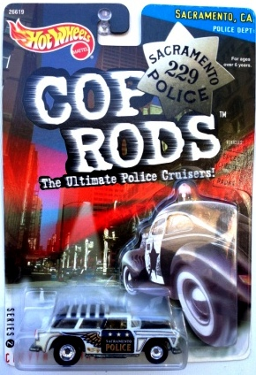 "HW (Cop Rods) The Ultimate Police Cruisers ""Sacramento, Ca"" Limited Edition 1:64 Scale Collection Series ""Rare-Vintage"" (1999)"