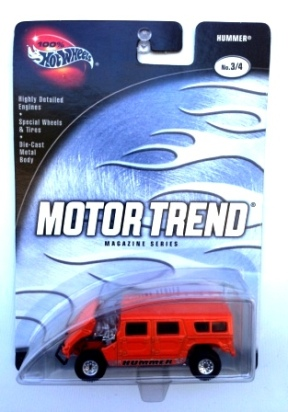 "HW (Motor Trend Magazine) Limited Edition 1:64 Scale Collection Series ""Rare-Vintage"" (2002)"
