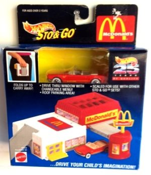 "HW (McDonald's Vechile Play Sets) ""Rare-Vintage"" 1994-1998"