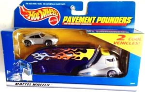 "Hotwheels (Pavement Pounders ""2-Pack Transporters"") Treasure Hunts & Limited Edition 1:64 Scale (Diecast Collection) ""Rare-Vintage"" (1999-2003)"