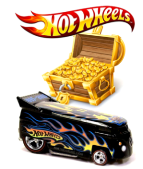 "HW TREASURE HUNT-CARDS (1:64 Scale Collection Series) ""Rare-Vintage"" (2001-2013)"